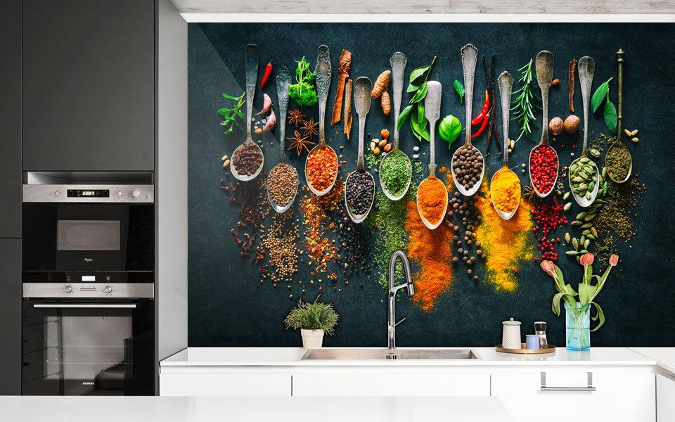 Küchenrückwand maßgenau drucken lassen | Digitaldruck-Fabrik