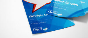 Klebefolie safety